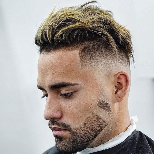 Short Sides, Long Top Hairstyle
