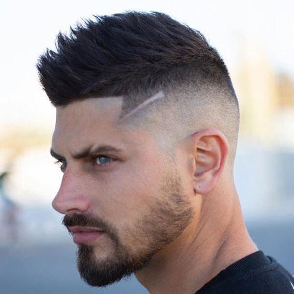 Faux Hawk Fade Haircuts 2019