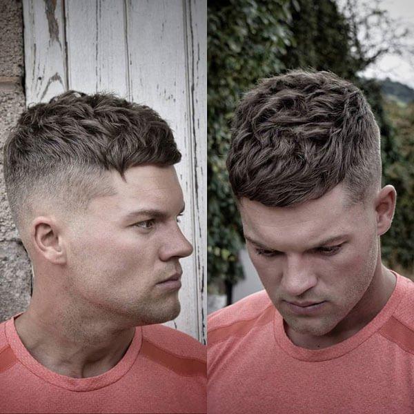 Short Textured Men's Haircut