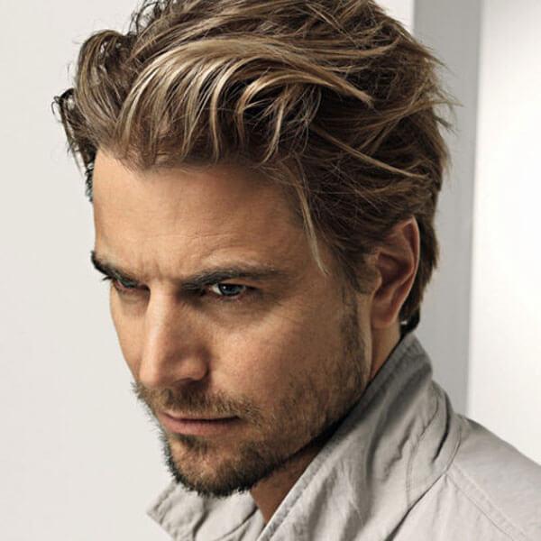 Long Hairstyle For Men + Beard