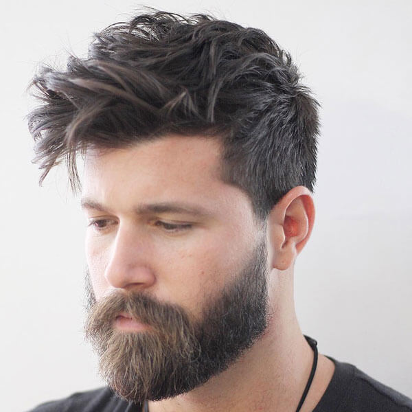 Messy Taper Hairstyle