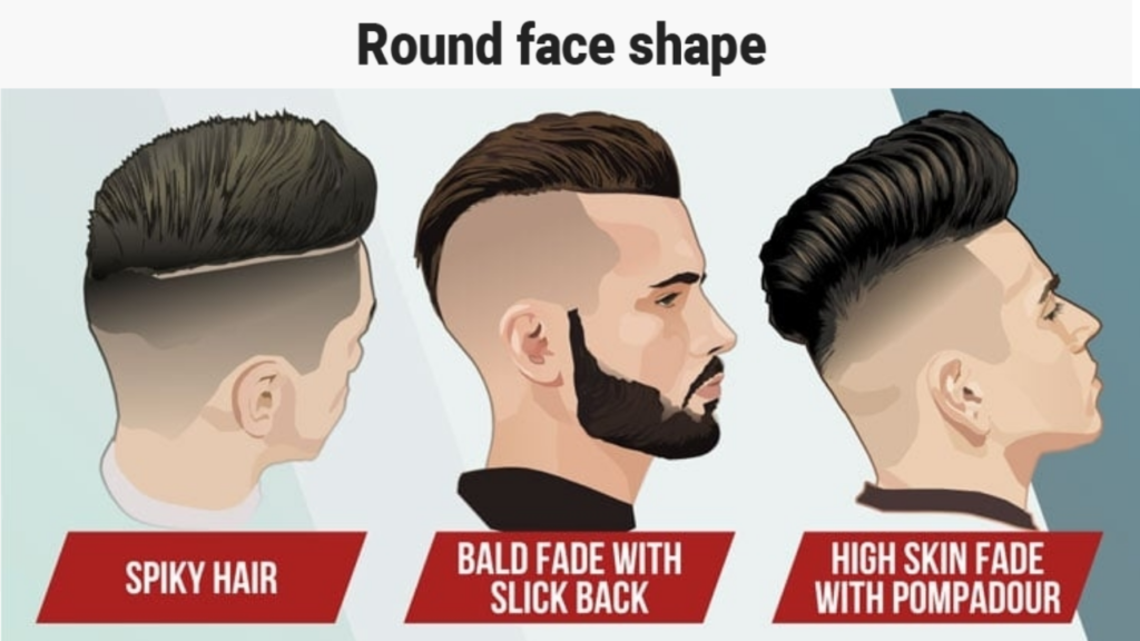 Mens Hairstyle For Round Face Shape