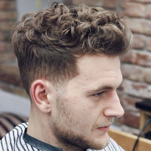 Taper Haircut For Curly Hair