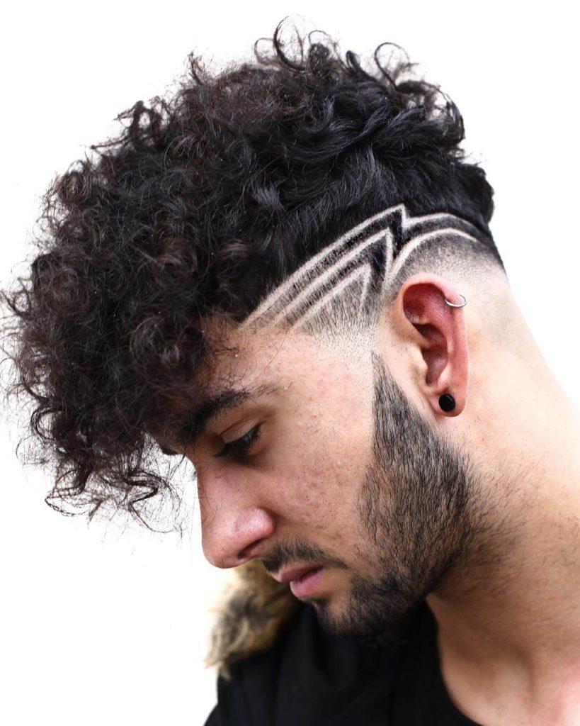 Mid Fade Hair Design