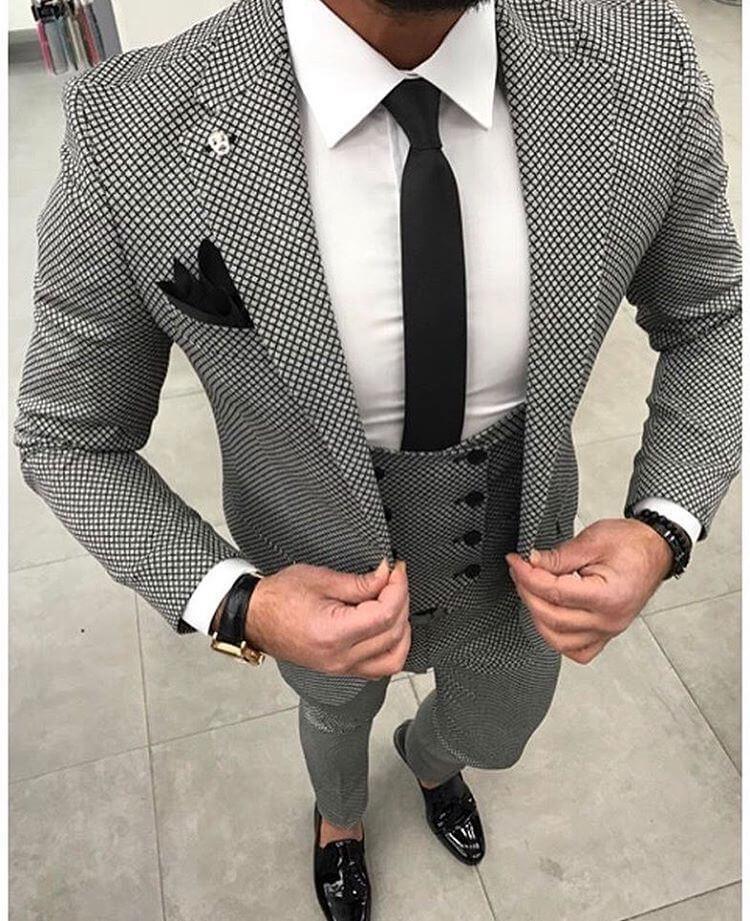 Printed Blazer for Formal Wear-6