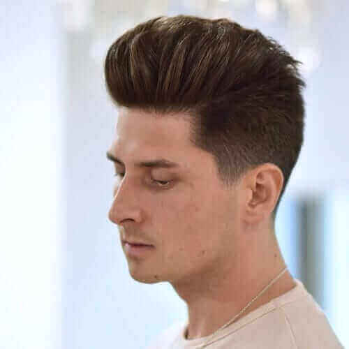 Pompadour with Layers