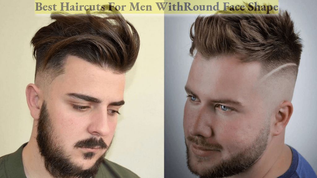Round face hairstyles for men