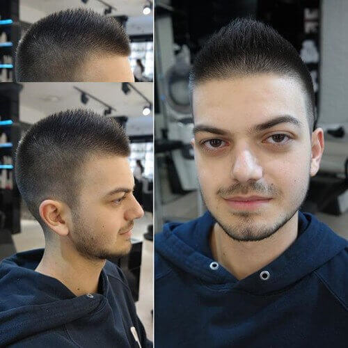 Short Faux Hawk Hairstyle